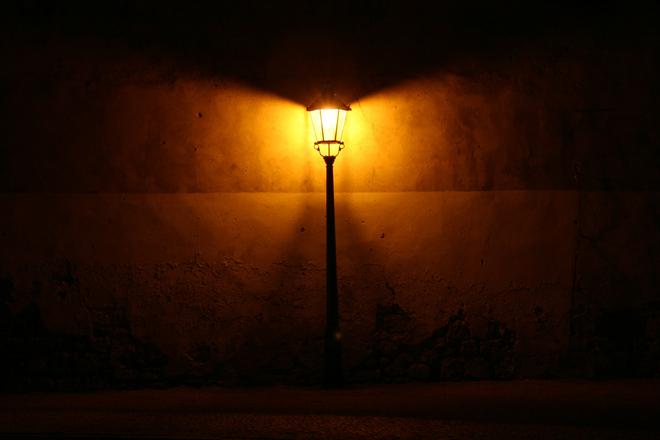 Streetlight At Night Photograph 1199702 Freeimages Com