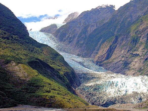 Zamach Nowa Zelandia Film Facebook: Free Fox Glacier, New Zealand Stock Photo