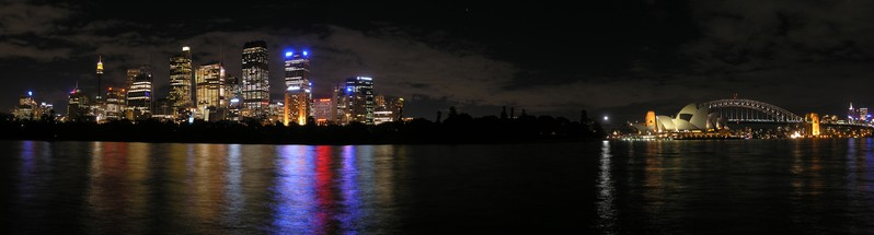 Sydney skyline, panorama