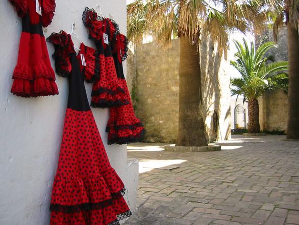flamenco dresses andalucia