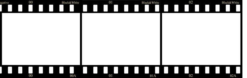 Negative film strip