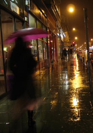 Rainy Street at Night, free photos, #1429114 - FreeImages.com