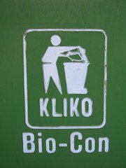 bio-con,signs,container,containers