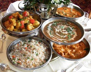 Indian food by Sat Bhatti prt