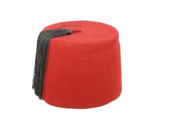 red arabian fez