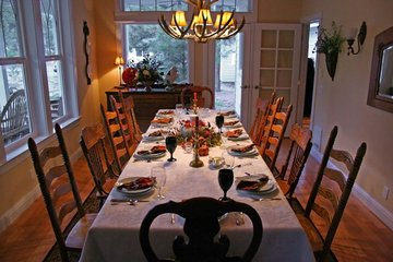 Table de Thanksgiving