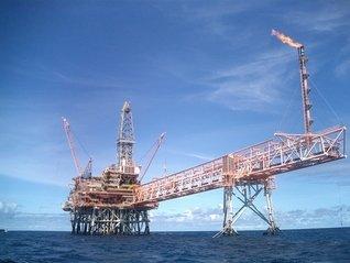 Plate-forme offshore de Gass