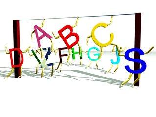 字母表 3D