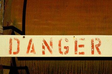Danger,danger,type,typography