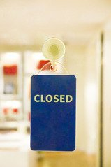 Closed,close,shop,glass