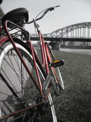 Fiets,bike,cracow,bridge