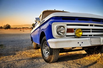 old pickup