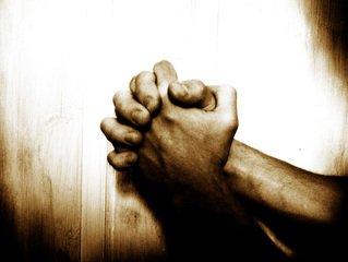 Gebed,Folded,sepia,pray