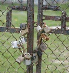 Locked,padlock,locked,gate