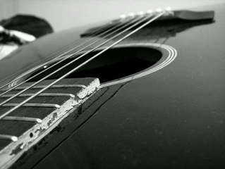 Free Black And White Guitar Images Pictures And Royalty Free Stock