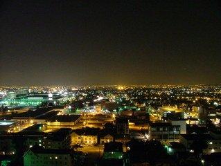 LA banlieue nuit