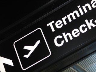 Terminal Check Sign