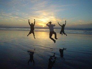 sunset joy