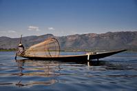 Fishing @ Lake, Myanmar