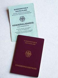 Children Travel Passport
