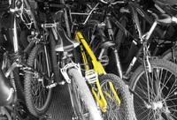 bike in yellow