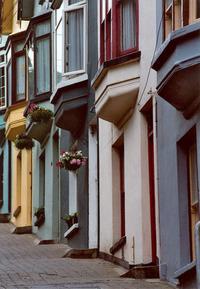 Coloured terrace