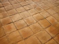 Tile Floor at Quisala