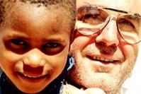 Dad, Gemma, Africa