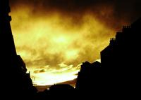 Dublin Skies On Fire