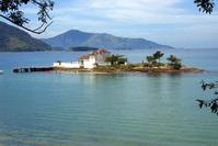 Ilha do Bonfim em Angra dos Reis, Brasil