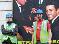 Builders in London