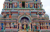 Hindu temple detail 2