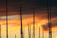 masts on sunset 2