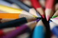Pencils coloured on black 8