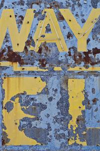 Abandoned Sign 3