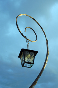 old light post