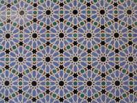 Ceramic tiles in the Alcazar