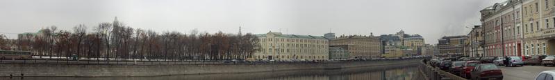 Panorama Of Bolotnaya Square