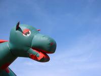 Inflatable Dragon Head