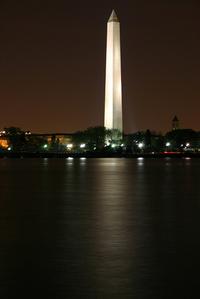 Wash Monument at Night