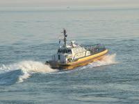 Boat in action Pilot Vlissinge