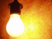 bulb against orange stock photos