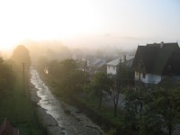 Sunrise in Pieniny Mountains