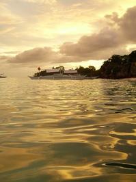 Sunset on the Banaue Island