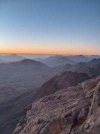 sunrise at mount sinai