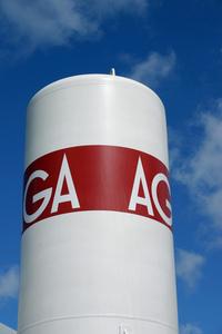 Gas cistern