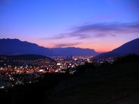 Sunset in Monterrey