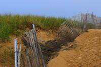Broken Fence on the Beach