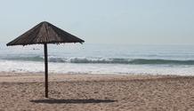Beachfront umbrella