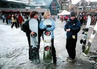 Lets go snowboarding